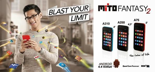 Mito Fantasy 2, A75, A250, A310