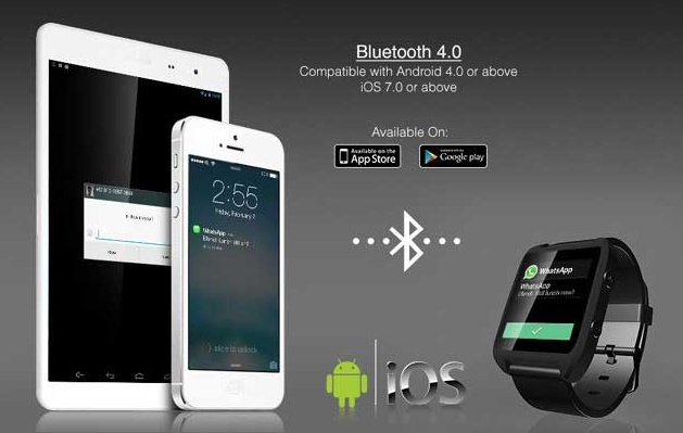 SpeedUp smartwatch