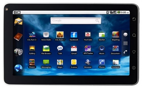 Advan Vandroid T1C,tablet murah