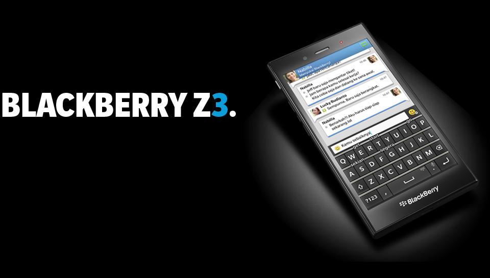 BlackBerry Z3 Jakarta tidak di produlsi