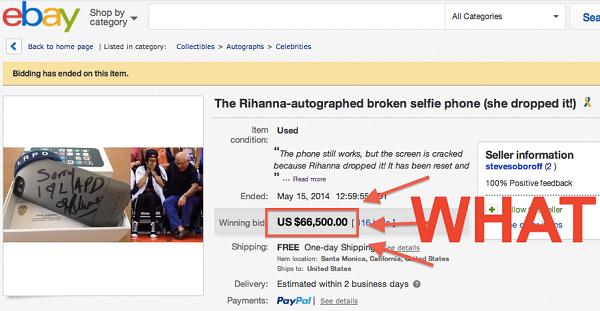 iPhone seharga Rp.700 juta di eBay